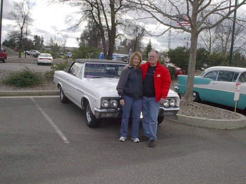 Cliff & Diana Cottam at Kool April Nights Car Show